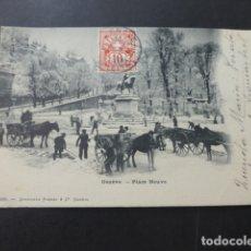 Postales: GINEBRA GENEVE SUIZA PLACE NEUVE. Lote 176107767