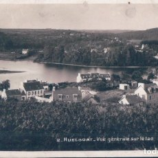 Postales: POSTAL FRANCIA - HUELGOAT - VUE GENERALE SUR LE LAC - REAL PHOTO C A P. Lote 176163727