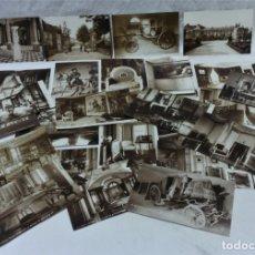 Postales: LOTE 25 ANTIGUAS POSTALES CHATEAU DE LA MALMAISON. RESIDÉNCIA DE NAPOLEÓN BONAPARTE Y JOSEFINA. Lote 176203239