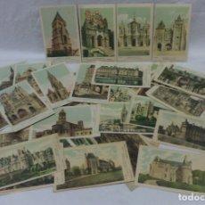 Postales: LOTE 49 ANTIGUAS POSTALES CATEDRALES Y CASTILLOS DE FRANCIA. COLECCIÓN PAUTAUBERGE.EN CASTELLANO. Lote 176204100