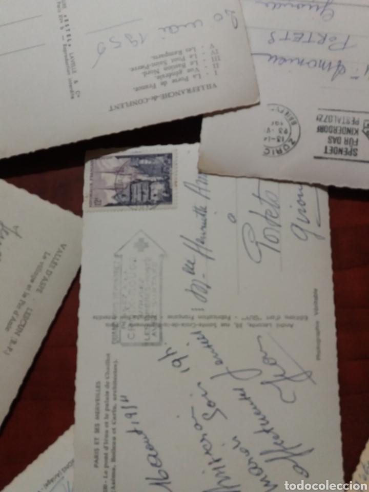 Postales: postales de Francia años 50 - Foto 4 - 176211845