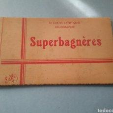 Postales: POSTALES 10 CARTAS ARTÍSTICAS SUPERBAGNÈRES.. Lote 176283315
