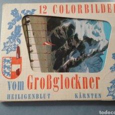 Postales: POSTALES 12 COLORBILDER VOM GOBGLOCKNER.. Lote 176285295