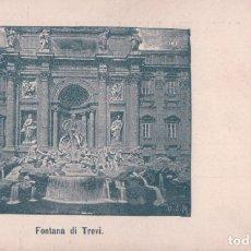 Postales: POSTAL FONTANA DI TREVI - 4 O.S.M - ITALIA. Lote 176365230
