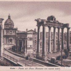 Postales: POSTAL ROMA . PARTE DEL FORO ROMANO COI NUOVI SCAVI - 4587-30 - ITALIA. Lote 176366193