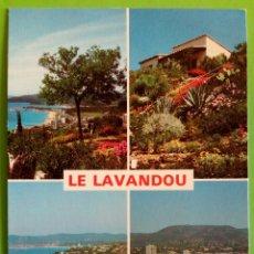 Postales: FRANCE- COTE D'AZUR. LE LAVANDOU. Lote 176450379