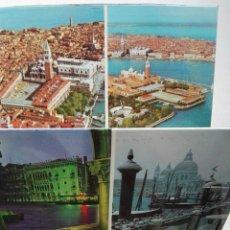 Postales: LIBRITO DESPLEGABLE POSTALES VENECIA. Lote 176473903