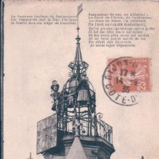 Postales: DIJON = LE JACQUEMART DE L'EGLISE NOTRE DAME - POSTAL FRANCIA CUPULA IGLESIA. Lote 176547164