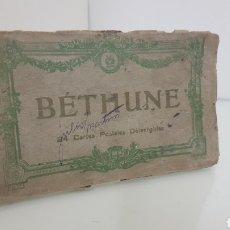 Postales: BETHUNE 19 POSTALES ANTIGUAS FRANCIA DE 15X8,5CMS. Lote 176574244
