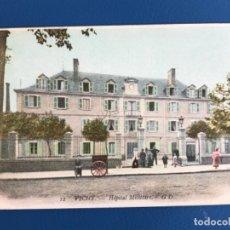 Postales: VICHY FRANCIA ANTIGUA POSTAL 12 HOPITAL MILITAIRE G.D. HOSPITAL MILITAR VICHI 1900 SIN CIRCULAR. Lote 177019932