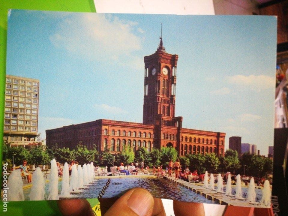 POSTAL BERLIN HAUPTSTADT DER DDR (Postales - Postales Extranjero - Europa)
