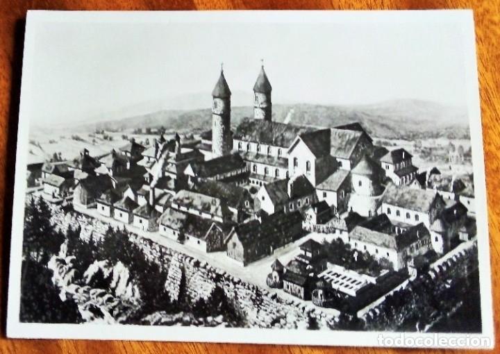 SUIZA. ST. GALLEN. FOTO RECONSTRUCCIÓN. SIN CIRCULAR. (Postales - Postales Extranjero - Europa)