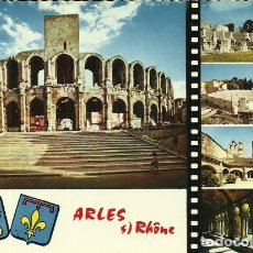 Postales: ARLES SUR RHONE - LES ARÈNES ROMAINES - EDITIONS RELLA - SIN CIRCULAR (FRANCIA) . Lote 177411562