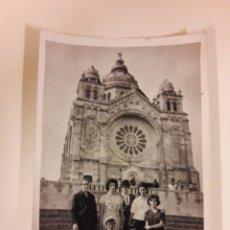 Postales: POSTAL FOTOGRAFICA ANTIGUA SANTA LUCÍA VIANA DO CASTELO. Lote 177429927