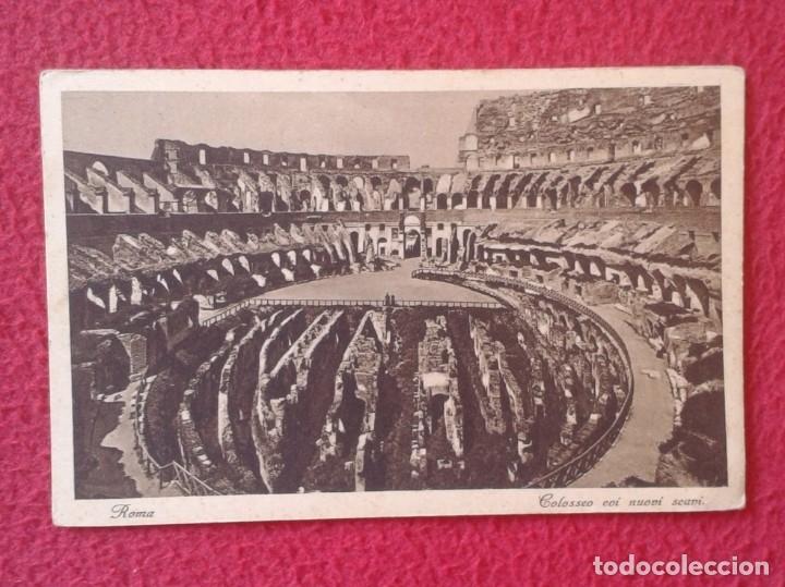 POSTAL POST CARD CARTE POSTALE TALIA ITALY ROMA ROME COLOSSEO COI NUOVI SCANI EL COLISEO VER FOTO/S (Postales - Postales Extranjero - Europa)