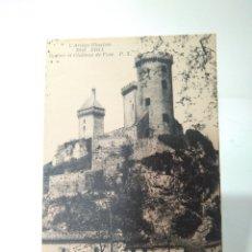Postales: POSTAL DE ROSHER EL CHATEU DE FOIX. L'ARIÉGE ILLUSTRÉE. FOIX, 3046. 9X14CM. Lote 177786278