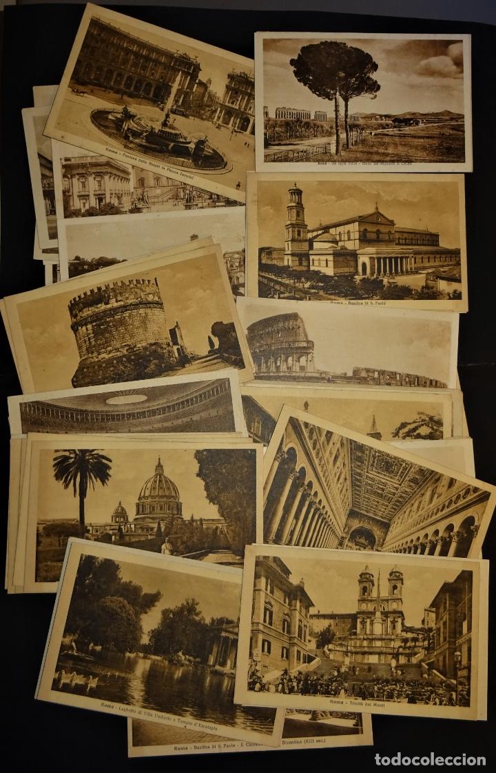 Postales: 43 antiguas postales de Roma de los años 20. Ver fotos y comentarios - Foto 4 - 178061748