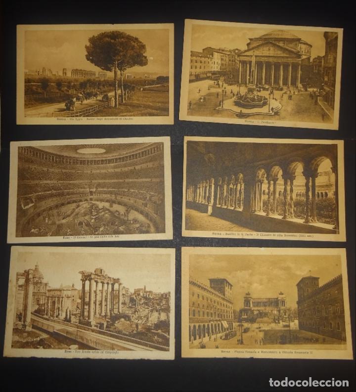 Postales: 43 antiguas postales de Roma de los años 20. Ver fotos y comentarios - Foto 5 - 178061748