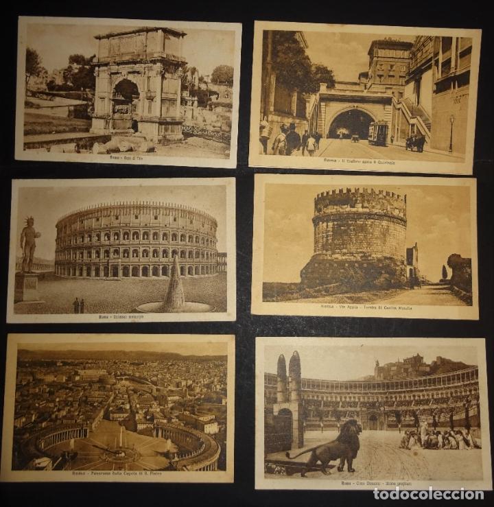 Postales: 43 antiguas postales de Roma de los años 20. Ver fotos y comentarios - Foto 6 - 178061748