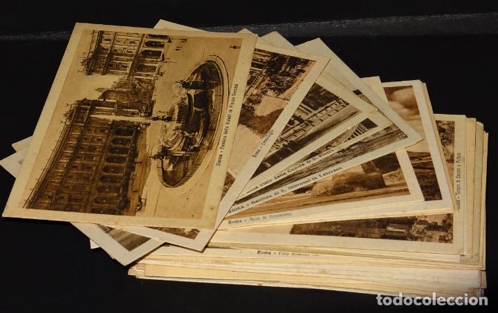 43 ANTIGUAS POSTALES DE ROMA DE LOS AÑOS 20. VER FOTOS Y COMENTARIOS (Postales - Postales Extranjero - Europa)