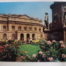 Postales: POSTAL. MILANO. PIAZZA DELLA SCALA. ED. LUIGI SCROCCHI. NO ESCRITA. . Lote 178113583
