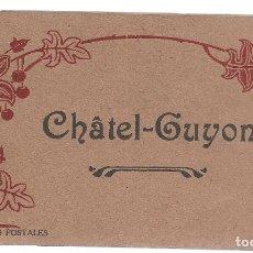 Postales: E100- BONITO Y ANTIGUO BLOC DE 15 POSTALES DE - CHATEL - GUYON - FRANCIA. Lote 178126108