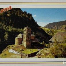 Postales: POSTAL ANDORRA, CAPELLA DE SANT JOAN DE CASELLES. Lote 178127837