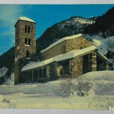 Postales: POSTAL ANDORRA, CHAPELLE ROMANE DE ST JEAN DE CASELLES. Lote 178128625