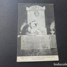 Postales: FLORENCIA ITALIA IGLESIA DE SANTA CRUZ TUMBA DE SIGNORINI. Lote 178147095