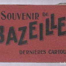 Postales: E100- BONITO Y ANTIGUO BLOC DE 10 POSTALES DE - BAZEILLES - FRANCIA. Lote 178218977