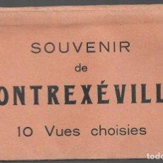 Postales: E100- BONITO Y ANTIGUO BLOC DE 10 POSTALES EN ACORDEON DE CONTREXEVILLE- FRANCIA. Lote 178228796