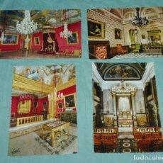 Postales: 4 POSTALES DEL PALACIO DEL PRINCIPE MONACO.. Lote 178245295