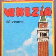 Postales: VENECIA - 50 VISTAS INDISPENSABLES. Lote 178368653