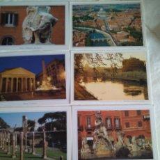 Postales: 12 POSTALES DE ROMA SIN CIRCULAR. Lote 178373277