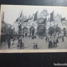 Postales: VENECIA ITALIA IGLESIA DE SAN MARCOS. Lote 178376621