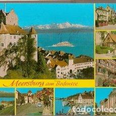 Postales: ALEMANIA & CIRCULADO,SALUDOS DESDE MEERSBURG AM BODENSEE, BRIEFREGION 78 A ALSFELD 1997 (88822) . Lote 178616658