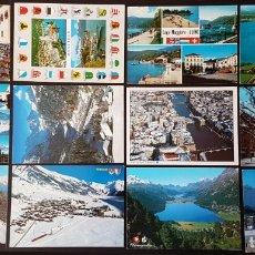 Postales: SUIZA LOTE DE 12 POSTALES CIRCULADAS. Lote 178620093