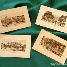 Postales: PRECIOSO LOTE DE POSTALES FRANCESAS - NANCY - TIPO GRABADO - ESQUINAS REDONDEADAS - . Lote 178685300