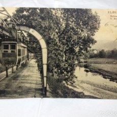 Postales: ANTIGUA POSTAL ALEMANA DEL AÑO 1909 - USADA - ELBERFELD SCHWEBEBAHN B. SONNBORN. Lote 178712498