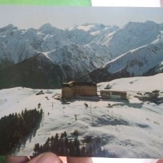 Postales: POSTAL LES PYRENEES LUCHON SUPERBAGNERES 1800 M. Lote 178814845