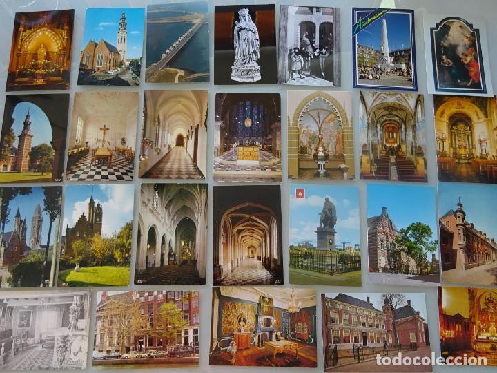 Postales: LOTE COLECCIÓN DE 307 POSTALES DE HOLANDA, AMSTERDAM, ROTTERDAM, MAASTRICHT HARLEEM. 1,25 KG - Foto 2 - 178863525