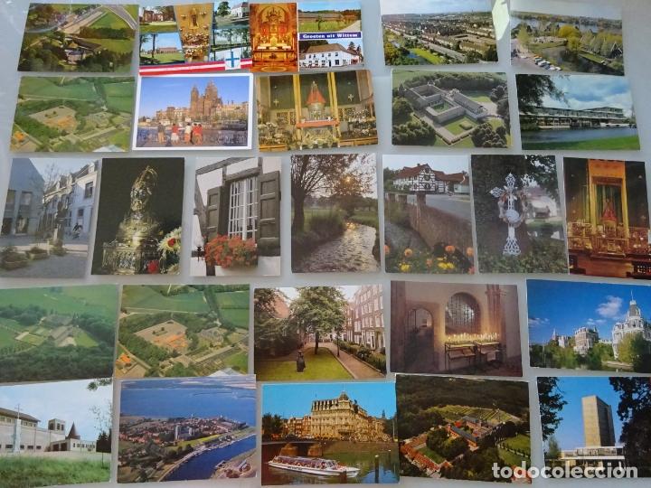 Postales: LOTE COLECCIÓN DE 307 POSTALES DE HOLANDA, AMSTERDAM, ROTTERDAM, MAASTRICHT HARLEEM. 1,25 KG - Foto 3 - 178863525