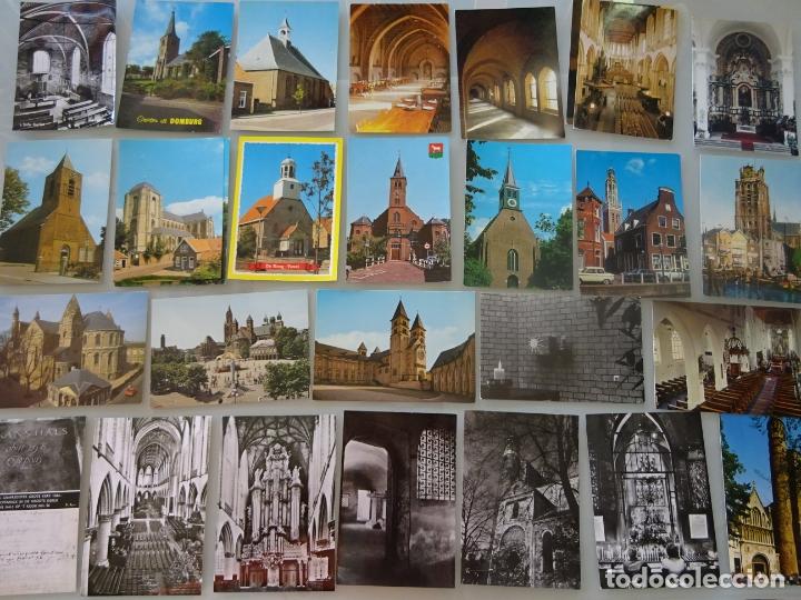 Postales: LOTE COLECCIÓN DE 307 POSTALES DE HOLANDA, AMSTERDAM, ROTTERDAM, MAASTRICHT HARLEEM. 1,25 KG - Foto 4 - 178863525