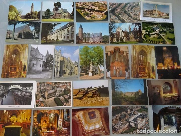 Postales: LOTE COLECCIÓN DE 307 POSTALES DE HOLANDA, AMSTERDAM, ROTTERDAM, MAASTRICHT HARLEEM. 1,25 KG - Foto 5 - 178863525