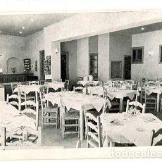 Postales: ANDORRA LA VELLA HOTEL CONSUL MENJADOR. SIN CIRCULAR. Lote 178896323