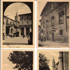 Postales: URBINO (LAS MARCAS - ITALIA) LOTE DE 8 POSTALES - AÑOS 1950. Lote 178925765