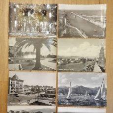 Postales: VIAREGGIO (TOSCANA) - LOTE DE 19 POSTALES - AÑOS 1950. Lote 178929680