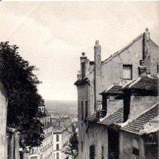 Postales: PARÍS - 718 MONTMARTRE - CALLE DEMONT-CENIS. Lote 178961777