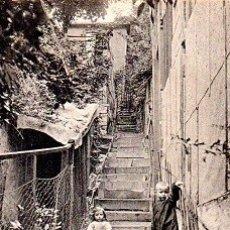 Postales: PARÍS - MONTMARTRE - ESCALERA EN EL MAQUIS. Lote 178962770