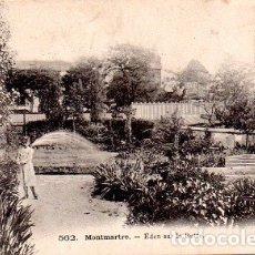 Postales: PARÍS - MONTMARTRE - EDÉN EN LA BUTTE. Lote 178963753